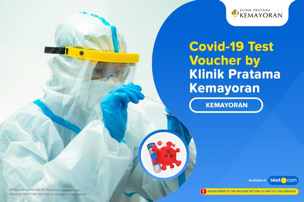 COVID-19 Rapid / Swab Antigen / PCR Test by Klinik Pratama Kemayoran