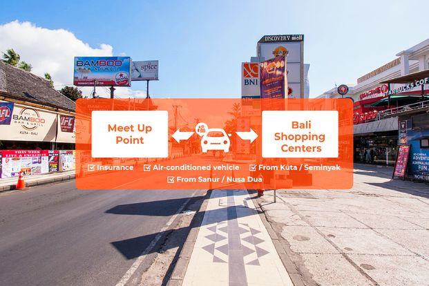 Bali Shopping Centers Shared Car Charter