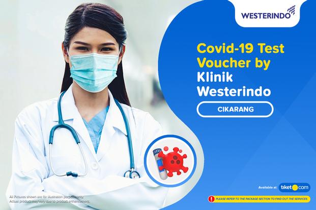 COVID-19 Rapid Antibodi / PCR / Swab Antigen Test By Lab Klinik Westerindo - Cikarang
