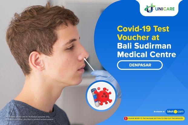 COVID-19 Rapid / PCR / Swab Antigen Test at Drive Thru Bali Sudirman Medical Centre