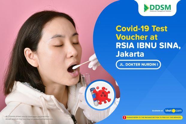 COVID-19 Rapid / PCR / Swab Antigen Test by RSIA IBNU SINA