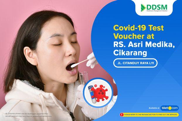 COVID-19 Rapid / PCR / Swab Antigen Test by RS. Asri Medika