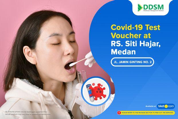 COVID-19 Rapid / PCR / Swab Antigen Test by RS. Siti Hajar