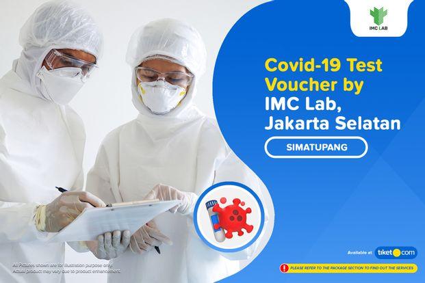 COVID-19 Rapid / PCR / Swab Antigen Test by IMC Lab Simatupang