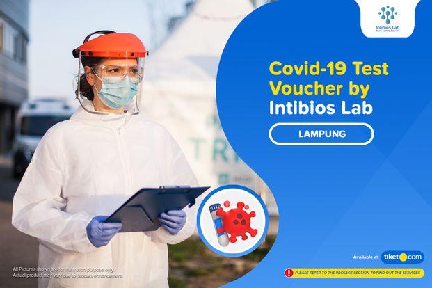 COVID-19 Rapid / PCR / Swab Antigen Test by Intibios Lab - Lampung