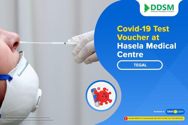 COVID-19 Swab Antigen Test by Klinik Hasela Medical Center Tegal