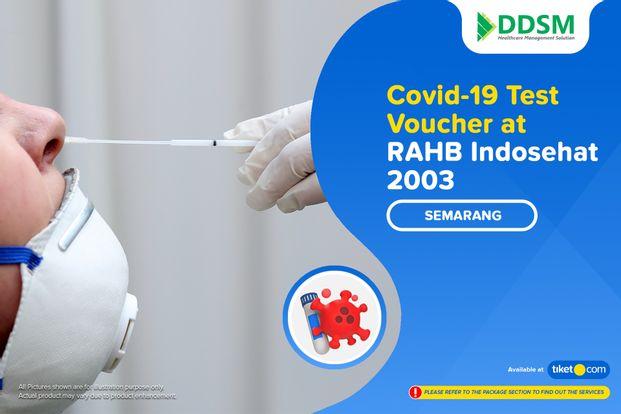 COVID-19 Swab Antigen Test by RAHB Indosehat 2003