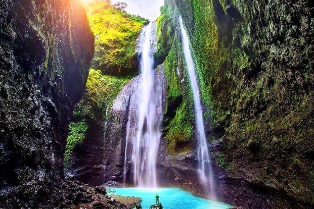 Mount Bromo and Madakaripura Waterfall Private Day Tour from Surabaya