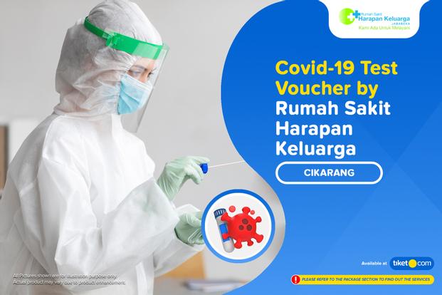 Covid-19 PCR / Swab Antigen Test by Rumah Sakit Harapan Keluarga