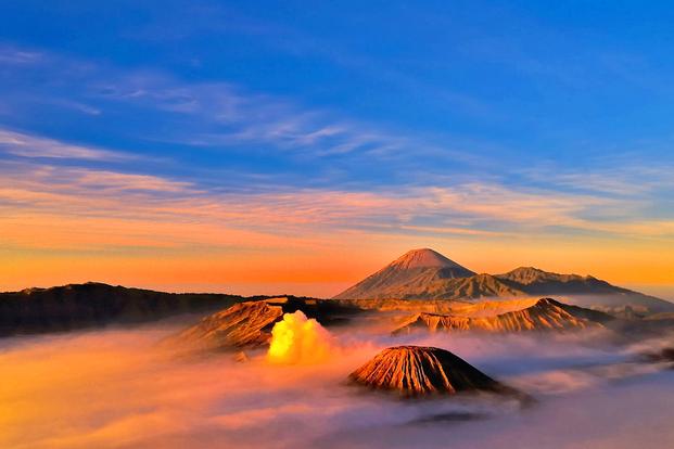 Mount Bromo Panorama and Rainbow Waterfall Tour