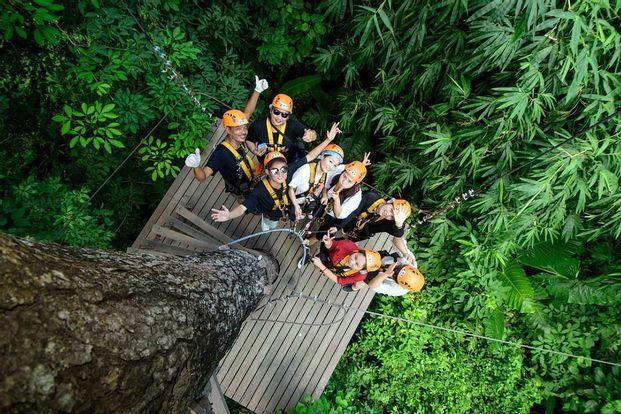 Zipline Experience at Phuket Tarzan Adventure Park