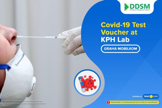 COVID-19 Rapid / PCR / Swab Antigen Test by KPH Lab