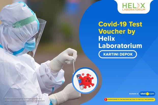 COVID-19 PCR / Rapid / Swab / Antigen Test by Helix Lab Kartini Depok