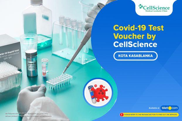 COVID-19 Rapid / PCR / Swab Antigen Test by CellScience - Kota Kasablanka