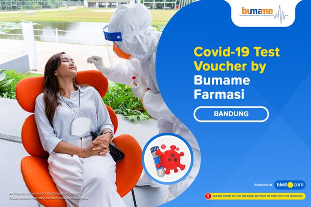 COVID-19 PCR / Swab Antigen Test by Bumame Farmasi Jalan Merdeka Bandung