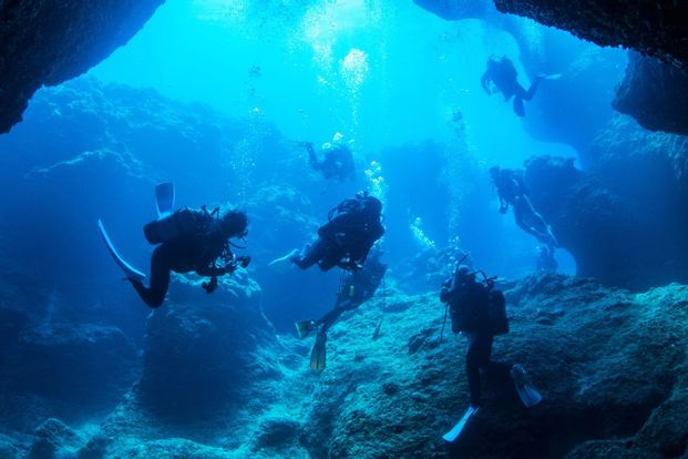 Onna Village Blue Cave Diving and Snorkeling Experience in Okinawa