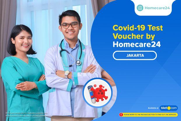 COVID-19 Rapid / PCR / Swab Test by Homecare24
