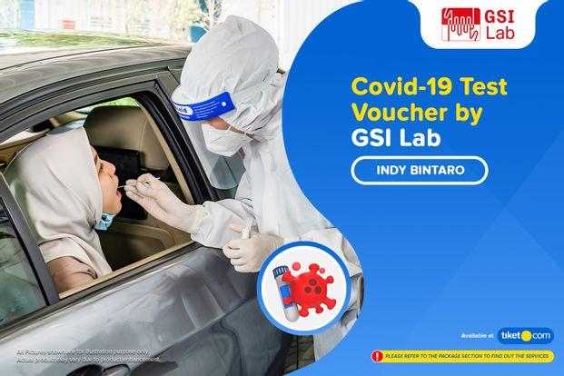 COVID-19  PCR / Swab Test by GSI Lab Indy Bintaro