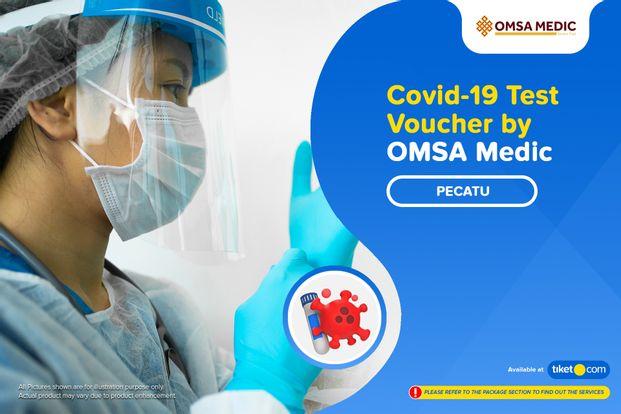 COVID-19 Rapid / PCR / Swab Antigen Test by OMSA Medic Pecatu