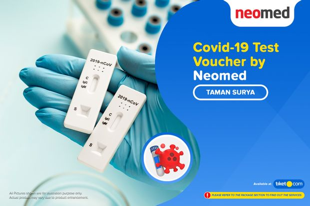 COVID-19 Rapid / Swab Antigen Test by Neomed - Taman Surya