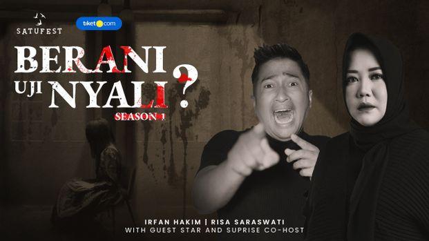 Berani Uji Nyali with Co Host Jurnal Risa