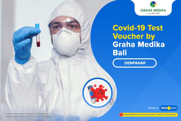 COVID-19 Rapid Antigen / PCR Swab Test by Klinik Graha Medika Bali