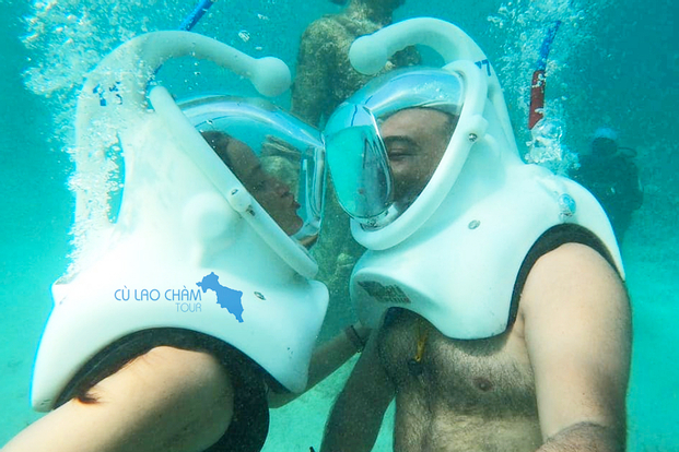 Cham Islands Sea Walk and Snorkeling Experience by Speedboat from Da Nang