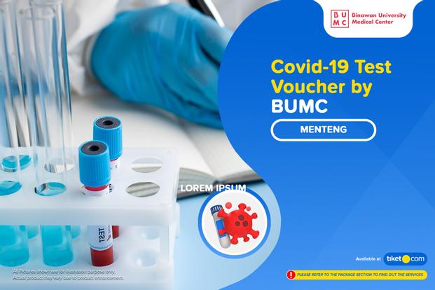 COVID-19 Rapid Antigen / PCR Swab / PCR Isothermal Test by BUMC Menteng