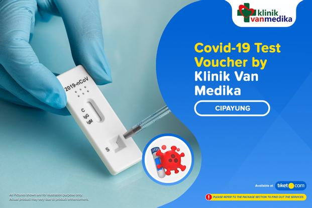 COVID-19 Rapid / Swab Antigen Test by Klinik Van Medika