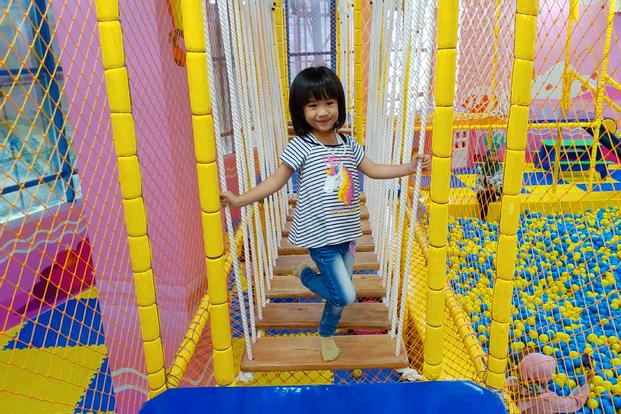 Happy Kiddy Playground at Dinoyo City Mall in Malang