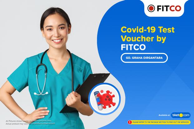 COVID-19 Rapid / PCR / Swab Antigen Test by Fitco (Gedung Graha Dirgantara)