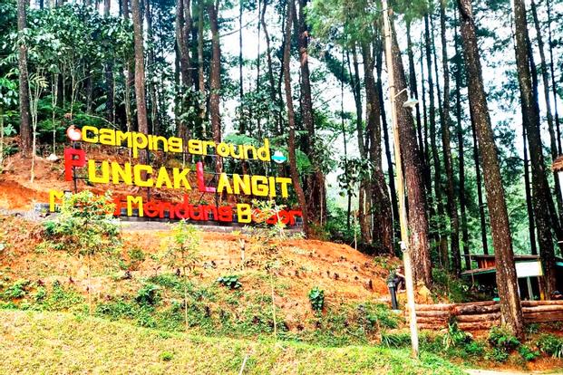 2D1N Camping Experience in Puncak Langit Camping Ground Bogor