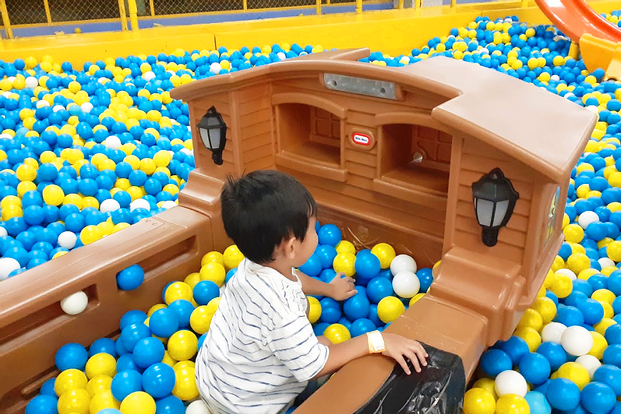 Happy Kiddy Playground in Medan and Rantau Prapat