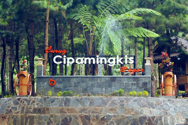Curug Cipamingkis Admission Ticket in Bogor