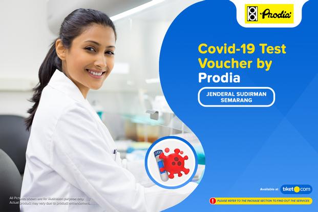 COVID-19 Rapid Antibodi / PCR / Swab Antigen Test by Prodia Semarang Jenderal Sudirman
