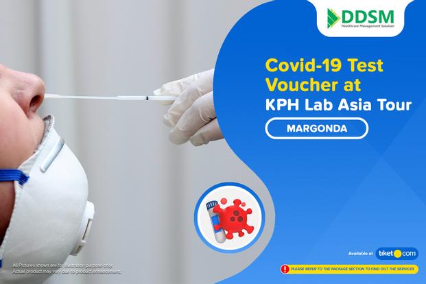 COVID-19 Rapid / PCR / Swab Antigen Test by KPH Lab Asia Tour - Margonda