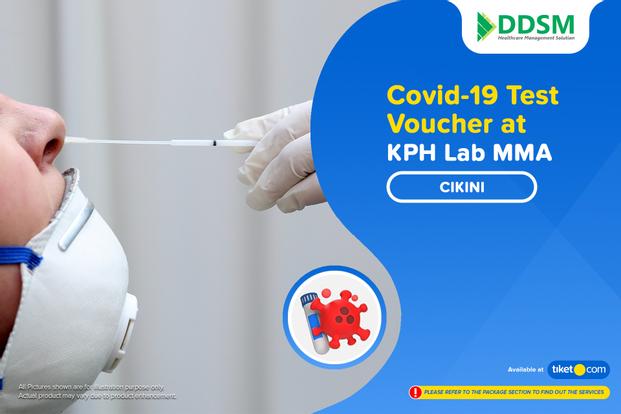 COVID-19 Rapid / PCR / Swab Antigen Test by KPH Lab MMA Cikini