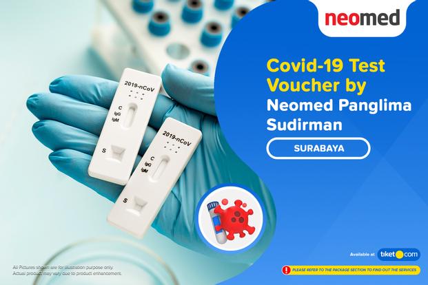 COVID-19 Rapid / Swab Antigen Test by Neomed Panglima Sudirman, Surabaya