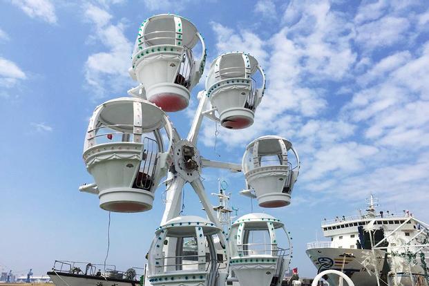 KW2 Mini Ferris Wheel Ticket in Kaohsiung