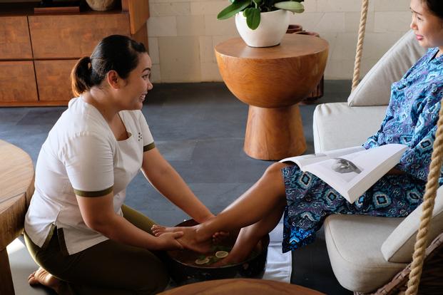 Spa and Massage at Six Senses Uluwatu Bali