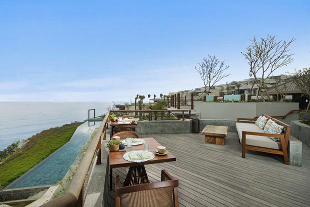 Lunch and Afternoon Tea at Six Senses Uluwatu Bali