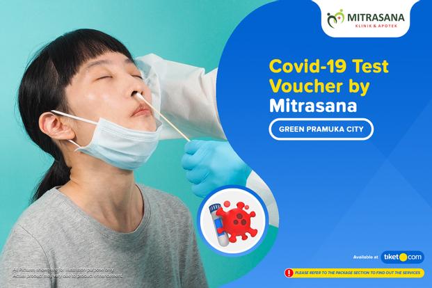 COVID-19 Rapid / Swab Antigen Test by Mitrasana Green Pramuka City
