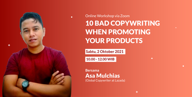 10 BAD COPYWRITING WHEN PROMOTING YOUR PRODUCTS