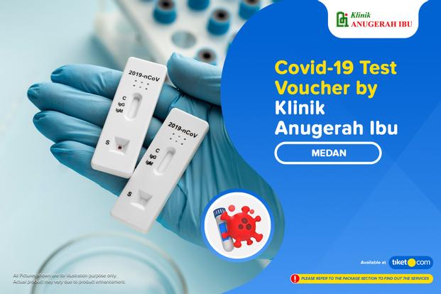 COVID-19 Rapid Antibodi / Antigen / PCR Swab Test by Klinik Anugerah Ibu Medan