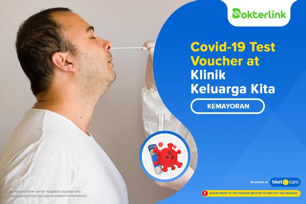 COVID-19 Rapid Antigen / PCR Swab Test by Dokterlink Klinik Keluarga Kita