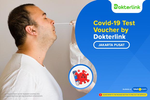 COVID-19 Home Visit Rapid Antigen / PCR Swab Test by Dokterlink