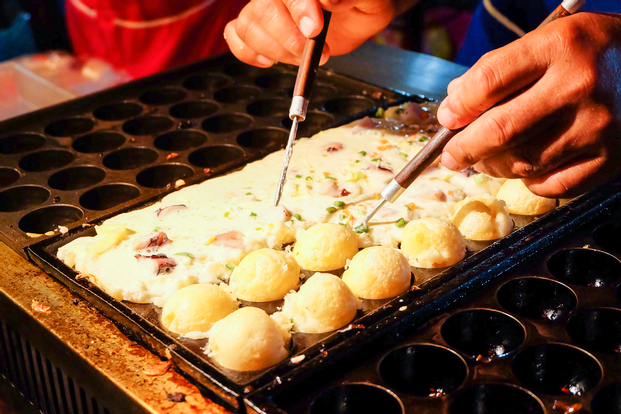 Takoyaki-making Experience at Tako no Tetsu