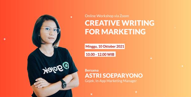 Creative Writing for Marketing