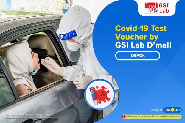 COVID-19  PCR / Swab Test by GSI Lab Dmall Depok