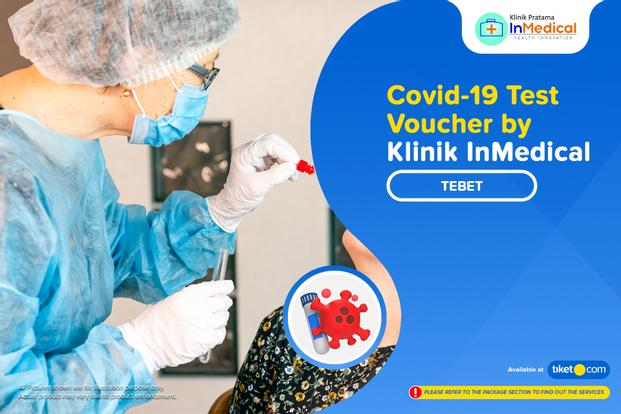 COVID-19 PCR / Swab Antigen Test by Klinik Inmedical